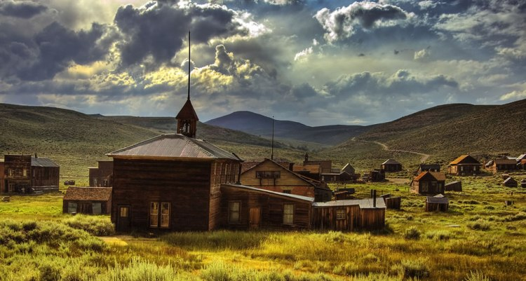 Ghost Town of the Wild West by Linda