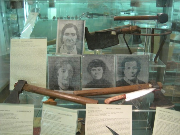 display at museum