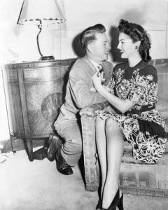 Mickey Rooney and Ava Gardner After Marriage