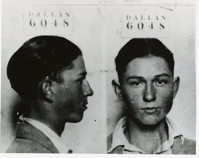 Resultado de imagen de clyde barrow police file 1926