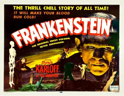 frankenstein movie poster